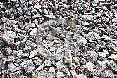 Broken stones pattern
