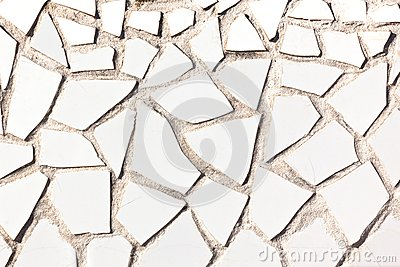 Broken Tile Mosaic Background