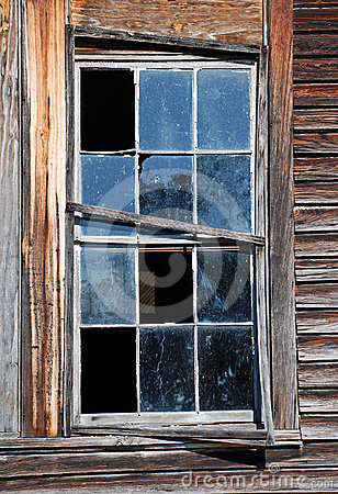 Free Broken Window Royalty Free Stock Photo - 24468065