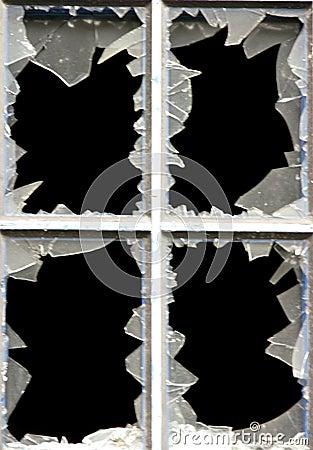 Free Broken Windows Royalty Free Stock Images - 8874729