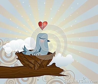 Brokenhearted Bluebird