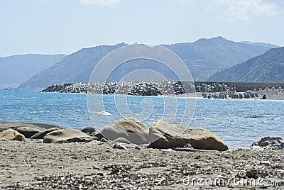Brolo beach, Messina, Sicily