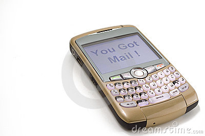 Brombeere-Telefon Redaktionelles Stockfoto