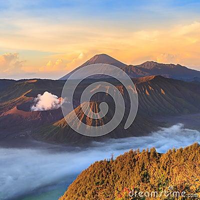Free Bromo Mountain In Tengger Semeru National Park Stock Images - 41474104