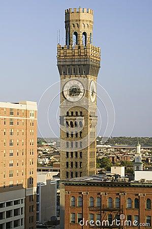 Bromo-Seltzer Clock Tower, Editorial Photography