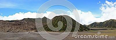 Bromo Volcano Panorama Indonesia