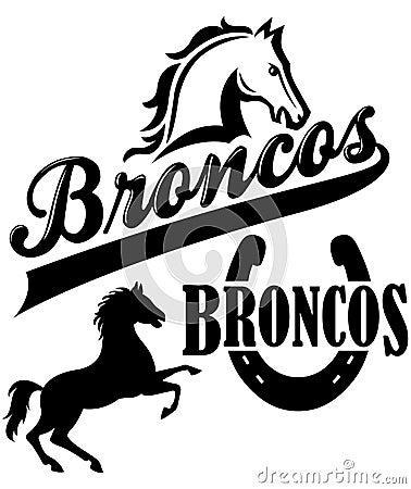 Broncos Team Mascot