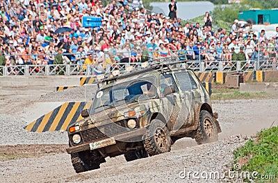 Brontorys custom car Editorial Stock Photo