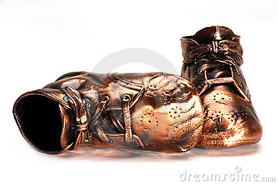 Bronze Baby Shoes a Keepsake