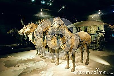 Bronze carriage Editorial Photo