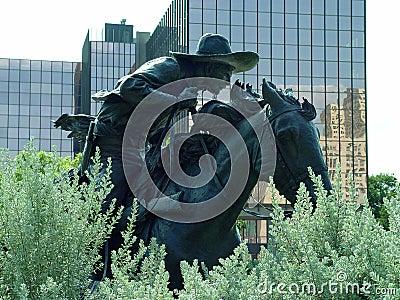 Bronze Cowboy