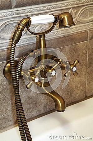 Bronze faucet