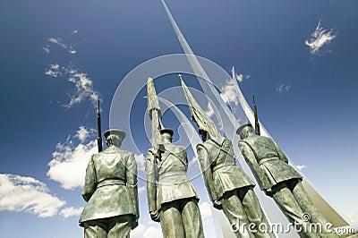 Bronze Honor Guard