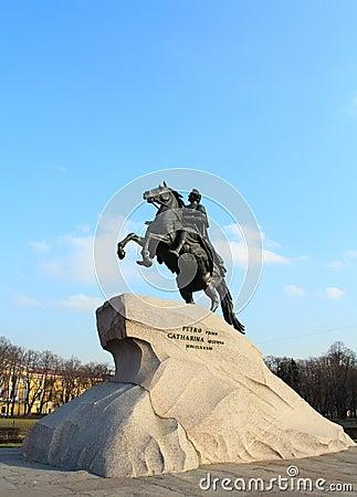 The Bronze Horseman. St.Petersburg, Russia.