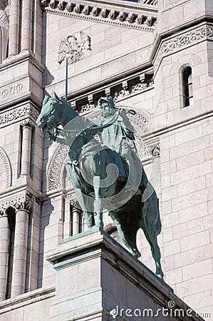 Bronze Joan of Arc