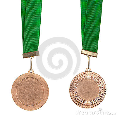 Free Bronze Medal Royalty Free Stock Images - 26354759