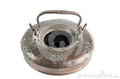 Bronze old lamp