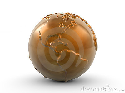 Bronze paperweight