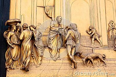Bronze scene