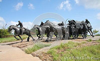 Bronze sculpture in Oklahoma