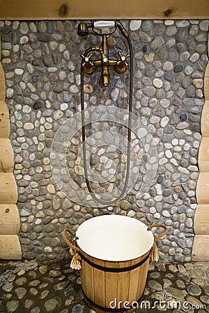 Bronze shower