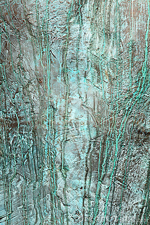 Bronze verdigris background