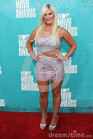 Brooke Hogan at the 2012 MTV Movie Awards Arrivals, Gibson Amphitheater, Universal City, CA 06-03-12 Editorial Photography