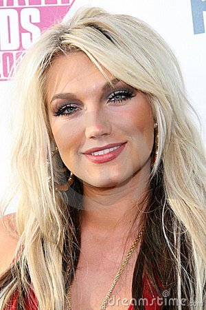 Brooke Hogan Editorial Stock Photo