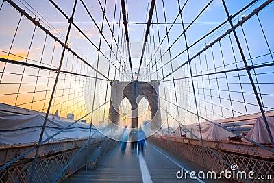 Brooklyn Boys on Bridge