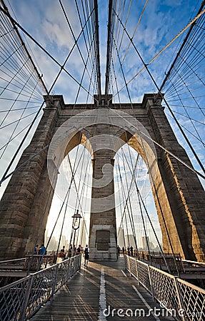 Brooklyn Bridge Editorial Image
