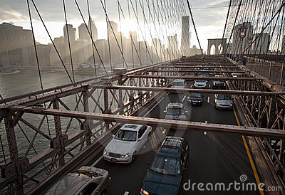 Brooklyn Bridge Editorial Photography