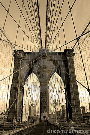 Free Brooklyn Bridge Stock Image - 931931