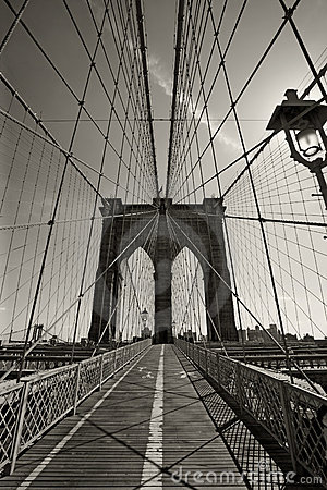 Free Brooklyn Bridge In New York City Stock Photos - 16723013
