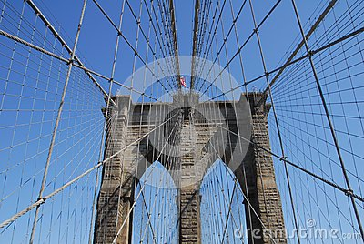 Brooklyn Bridge in Manhattan New York