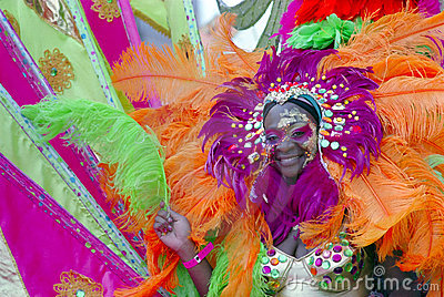 Brooklyn Carnival New York Editorial Stock Image