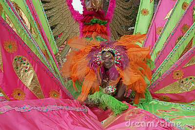 Brooklyn Carnival New York USA Editorial Stock Photo