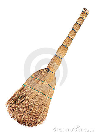 Free Broom Royalty Free Stock Photography - 17223667