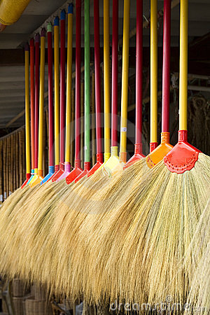 Free Broom Stock Images - 17293764