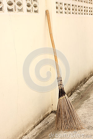 Broom Stock Photo - Image: 25117050