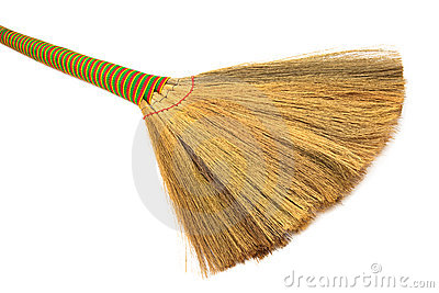 Broom close up