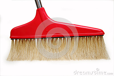 Broom close-up