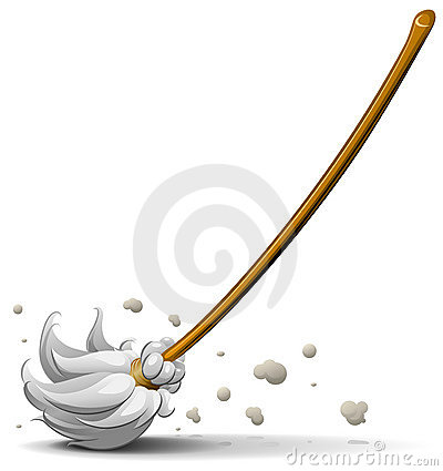 Free Broom Sweep Floor Royalty Free Stock Images - 15248719