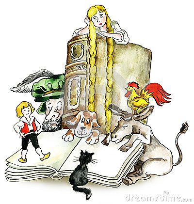 Brothers Grimm books characters
