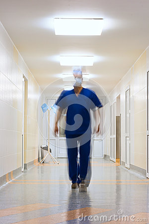 Brouillé dans le docteur de mouvement