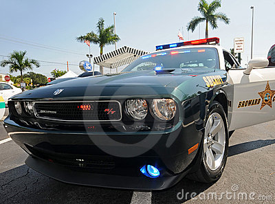 Broward County, Florida police car Editorial Photography