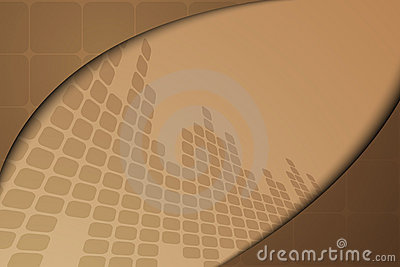 Brown abstract banner