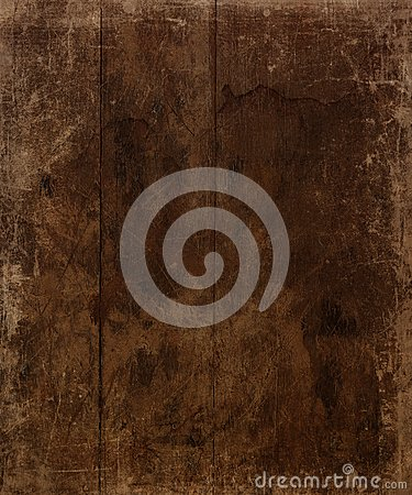 Brown Aged Wood Background
