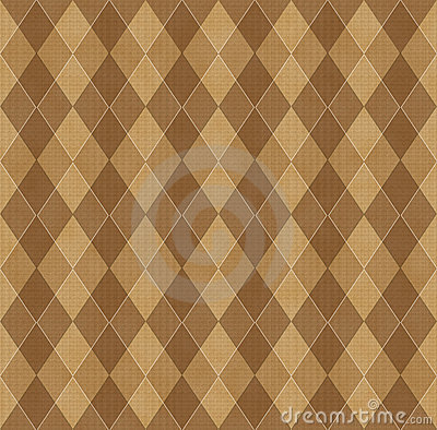 Brown background with rhombuse