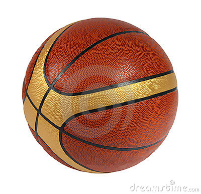 Brown-Basketballkugel