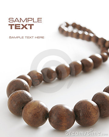 Free Brown Beads Stock Photography - 7650712